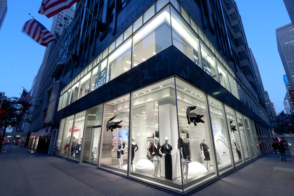 314fc56144d7 Mikel Bowman   Commercial   Lacoste Flagship 5th Avenue New York